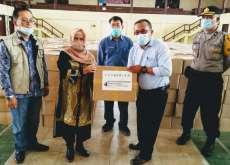 Pemkab Dairi Terima Bansos Sembako dari Gustu Covid-19 Provinsi Sumut