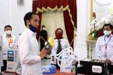 Jokowi Luncurkan Produk Inovasi Penanganan Corona