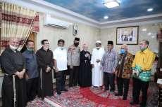 Kapolda Sumut Bersama Tokoh Lintas Agama Idul Fitri di Ponpes Alkautsar