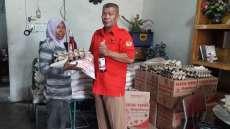 PAC PDI Perjuangan Medan Tembung Serahkan 100 Paket Sembako Kepada Warga Terdampak Covid-19