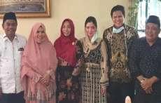 Darma Wijaya dan Adlin Umar Yusri Tambunan Bersilaturahmi  dengan Mantan Wakil Bupati Syahrianto