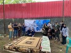 Sambut Idulfitri, Pasentra Salurkan 500 Paket Sembako