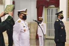 Jokowi Lantik Yudo Margono Jadi KSAL, Fadjar Prasetyo Jadi KSAU