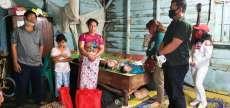 Batara Sinaga Bagikan 1.700 Paket Bantuan di Dairi