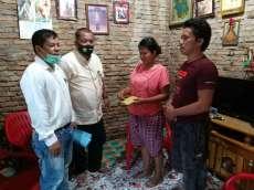 Tumpuan Manik Raja Sumut Bantu Biaya Operasi Rika Br Manik