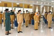 Gubernur Edy Rahmayadi Lantik 46 Pejabat Eselon III di Lingkungan Pemprov Sumut