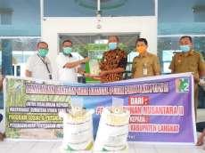 PTPN II Berikan 2 Ton Gula Pasir ke Pemkab Langkat