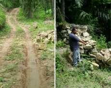 Pembangunan Jalan Terbengkalai dan Bronjong Rubuh, BPD Sei Nadoras Surati Inspektorat Asahan