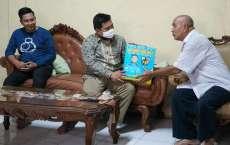 Ketua DPD KNPI Berikan Bingkisan Ramadan kepada Tokoh Pemekaran Labura