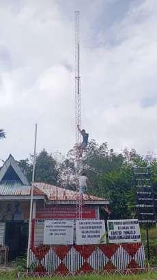 Jaringan Internet Bakal Menyentuh Pelosok Desa Bongguron Kariahan