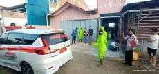 Hasil Swab Alm SUT Positif, Anaknya Jalani Isolasi di Gedung Akbid Kabanjahe