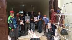 Partobuna Medan Kembali Bagikan 100 Paket Sembako ke Anggota