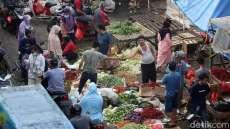 Gara-gara Corona, Omzet Pedagang Pasar Anjlok 39%
