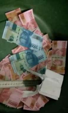 Diduga Uang Palsu Beredar di Beringin dan Pantailabu, 2 Tersangka Diamankan