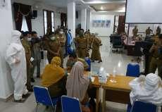 Hasil Swab Tujuh Pejabat Deliserdang Negatif Covid-19, 2 Warga Tanjungmorawa dan 2 Warga Percut Seituan Positif