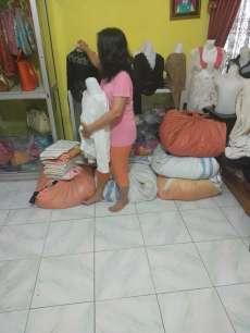 Gara-Gara Corona, Omset Pedagang Pakaian di Kisaran Berkurang