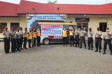 Polres Sibolga Salurkan Bantuan Paket Sembako