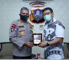Kapolda Sumut Terima Audiensi Perwakilan Bank Indonesia dan Pertamina