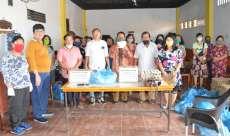 Parsadaan Purba Pakpak, Boru dohot Panogolan (P3BP) Kota Medan Berbagi Kasih kepada Anggota Terdampak Covid-19