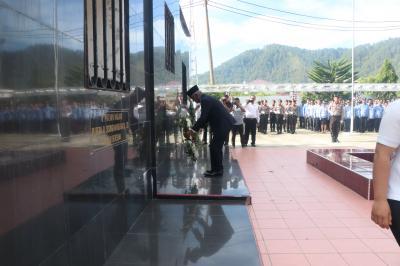 Peringatan 112 Tahun Wafatnya Sisingamangaraja XII Diisi Ziarah Nasional di Tobasa