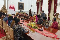 Bertemu Asosiasi UMKM, Jokowi: Saya Ingin Dapat Masukan