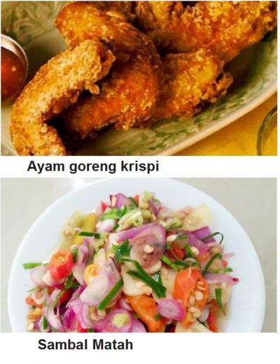 Resep Ayam Goreng Krispi dengan Sambal MatahWater