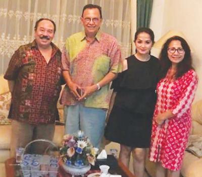 Didukung Keluarga, Terkelin Tarigan Produseri  Puluhan Film dan Acara TV