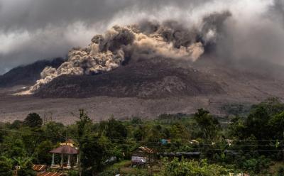 3 Wilayah di Aceh Terpapar Debu Erupsi Gunung Sinabung
