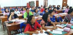 85 Guru Sekolah Minggu HKBP Distrik V Sumatera Timur Ikuti Pembinaan