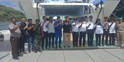 BNN Sumut Tes Urine Crew Kapal  di Pelabuhan Ajibata dan Parapat