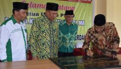 Said Aqil Siradj Resmikan Gedung PCNU Deliserdang