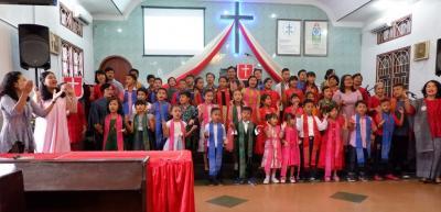 Pesta Sekolah Minggu GKPS Sidorame Berlangsung Hikmat