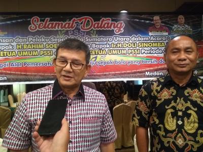 Doli Sinomba Siregar Siap Maju di Kongres Tahunan PSSI