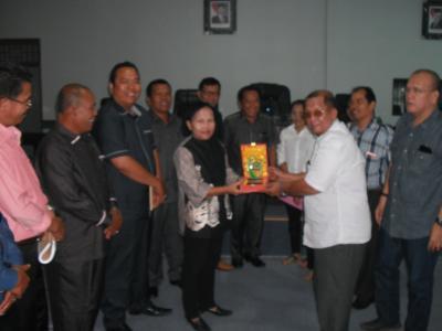 Tim Banggar DPRD Humbahas Kunker ke DPRD P Siantar