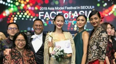 Model Indonesia Raih 'Face of Asia' di Seoul