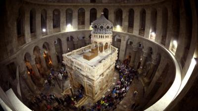 Tiga Gereja Yerusalem Sepakat Renovasi Ulang Gereja Makam Kudus