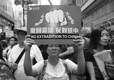 Ribuan Warga Hong Kong Protes RUU Ekstradisi