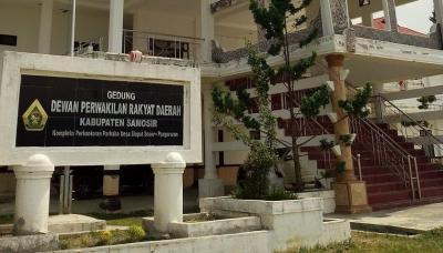 Pimpinan dan Anggota DPRD Samosir Tidak Hadiri Upacara Hari Lahir Pancasila