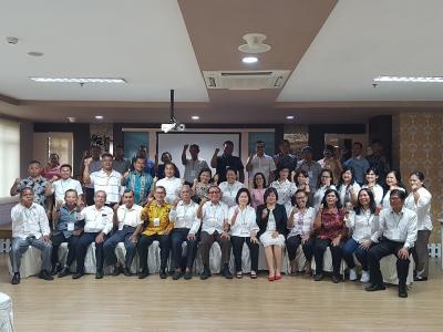 Gelar Rakor Parnasib Kota Medan, RE Nainggolan : Dengan Bertemu Kita Bisa Semakin Kuat