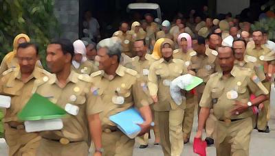 219 PNS Banten yang Bolos Kerja Usai Lebaran Terancam Sanksi