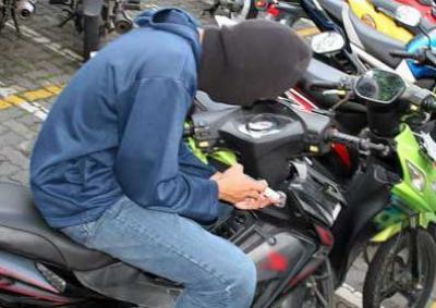5 Bulan Buron, Pencuri Sepedamotor Ditangkap Satreskrim Polres Sergai