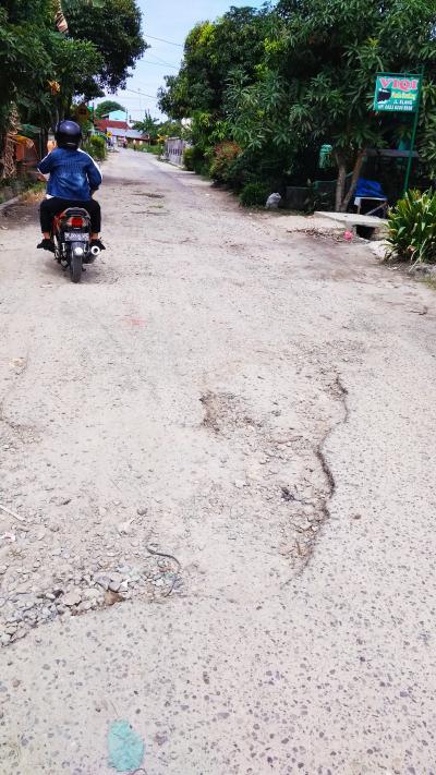 Bertahun Kupak-kapik, Jalan Setia Kisaran Tak Kunjung Diperbaiki