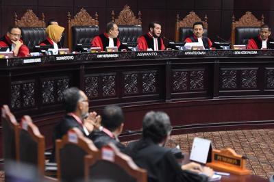 Tim Hukum Prabowo-Sandi Gunakan Pendapat Hakim MK dalam Gugatan di MK