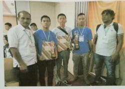 Hebat, SMK N 2 Siatas Barita Wakili Sumut Pada LKS Nasional