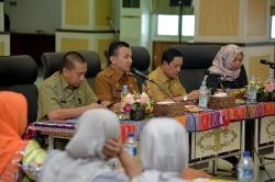 Biro Humas dan Keprotokolan Setdaprov Sumut Silaturahmi dengan Wartawan