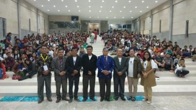 Utusan Sumut Bawa Misi Perdamaian Milenial di Youth Camp Nasional GTDI Riau