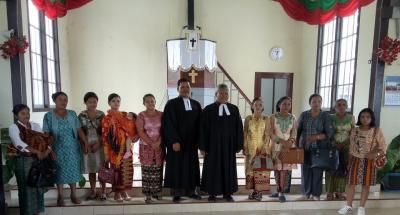 Ephorus Bersama Jemaat HKBP Sipirok Rayakan Kenaikan Tuhan Yesus