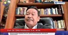 Prof Otto Hasibuan: Single Bar System Terbaik dan Teruji di Dunia