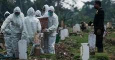 Rekor 3 Hari Berturut-turut, Total Kematian Corona RI Tembus 80 Ribu