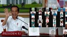 Hari Anak Nasional, Jokowi: Tetap Semangat Belajar dan Bermain di Rumah
